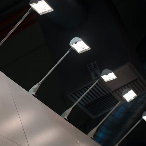 expokom GmbH | Beleuchtung Messestand Ziegelmueller