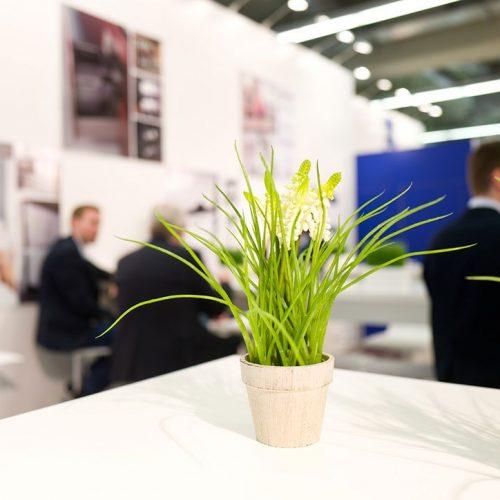 expokom GmbH | Dekoration Messestand Ziegelmueller