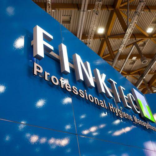 expokom GmbH | Firmenlogo Messestand Finktec