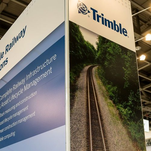 expokom GmbH | Messestandbau Firmenpraesentation Trimble