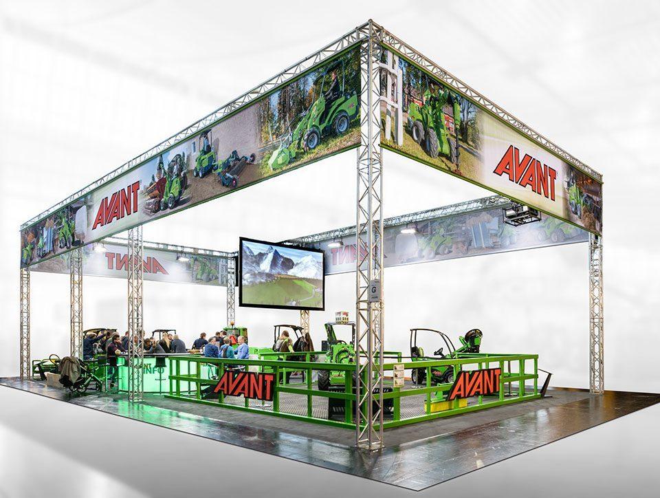 expokom GmbH | Messestandbau Gesamtansicht AVANT
