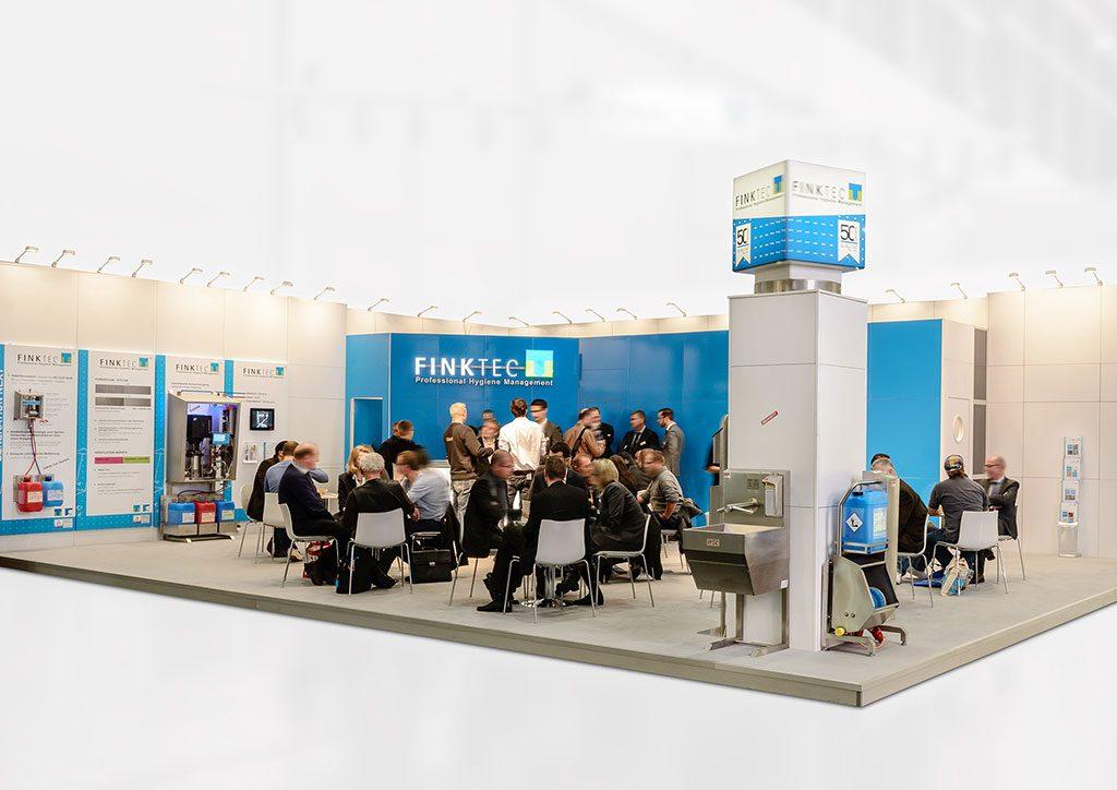 expokom GmbH | Gesamtansicht Messestand Finktec