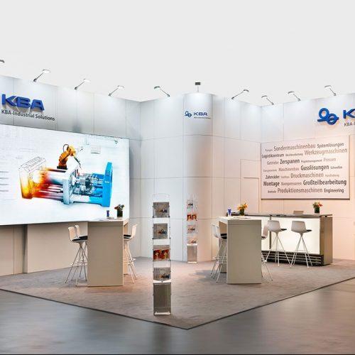 expokom GmbH | Gesamtansicht Messestand KBAS