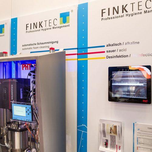 expokom GmbH | Infobereich Messestand Finktec