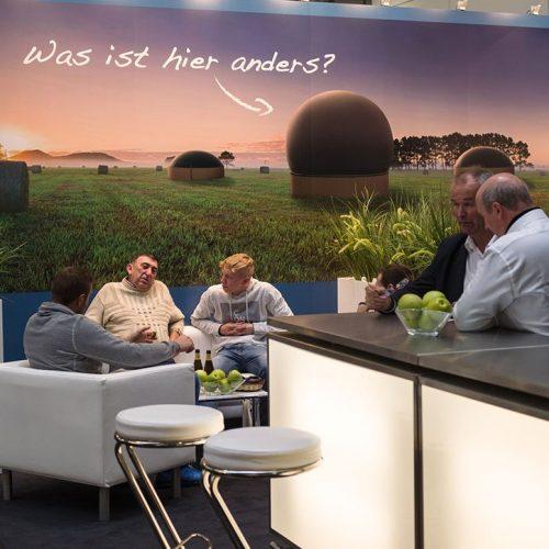 expokom GmbH | Messestand Sitzbereich Sensopower