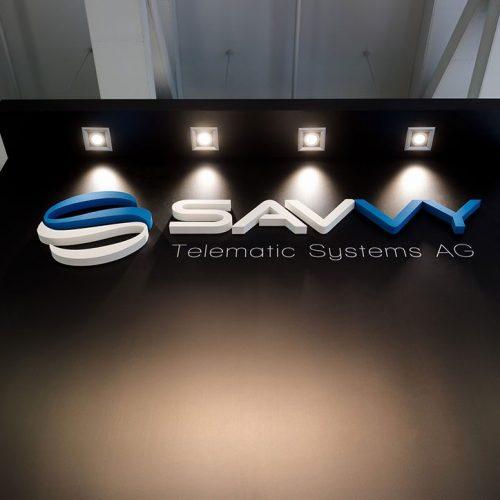 expokom GmbH | Messestand Standbeleuchtung Savvy