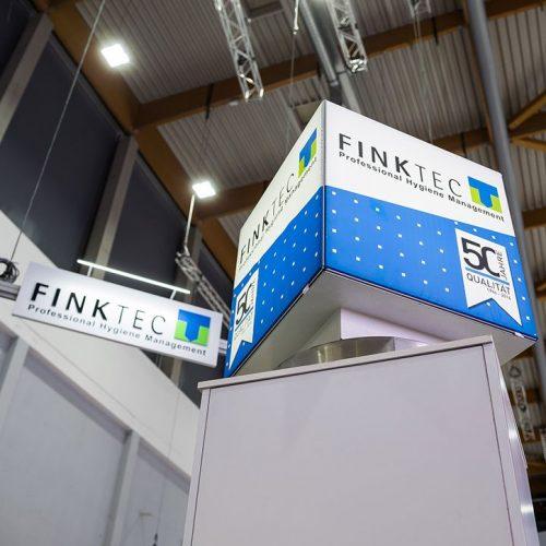 expokom GmbH | Wuerfel Finktec - Messestandbau